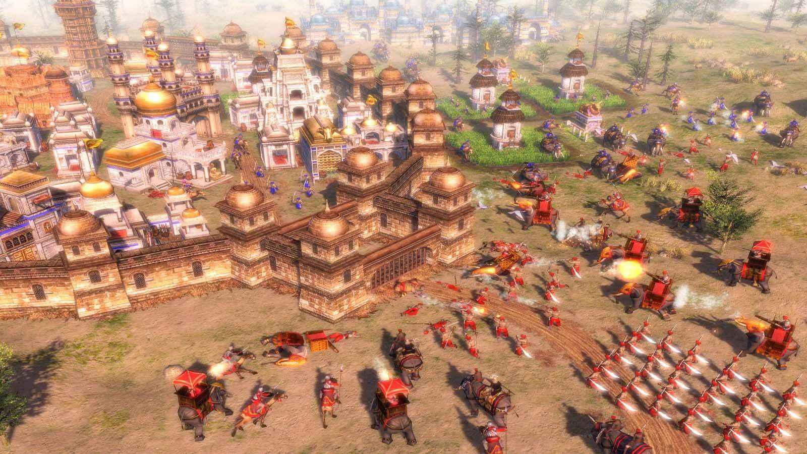 تحميل لعبة Age Of Empires 3 مضغوطة برابط واحد مباشر كاملة مجانا