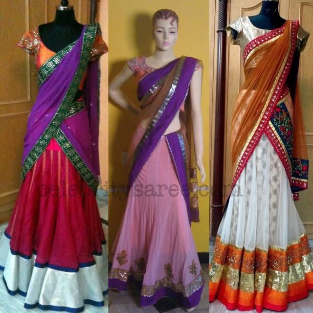 Pin By Ayu Sari On Ruchi Designs: 1000+ Images About Chaniya Choli/pavadai Dhavani On Pinterest