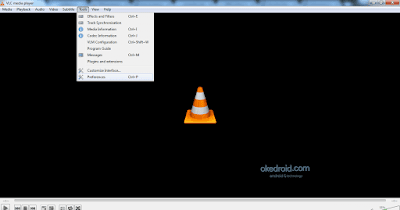 Tools Preferences VLC