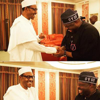 dele momodu meets president buhari