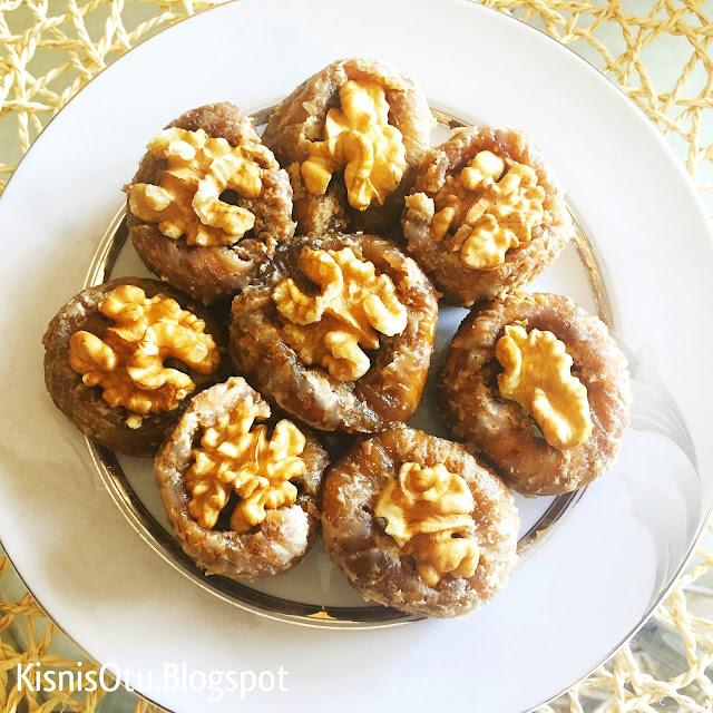 şekersiz, incir, tatlısı, pratik, lezzetli, nefis, kolay, kişniş, otu, Glütensiz, karatay, beslenme, diyeti,
