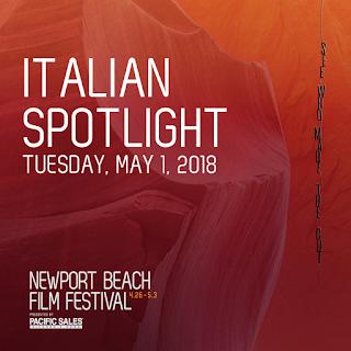 Save the Date - Italian Spotlight 2018 Newport Beach Film Festival