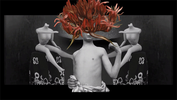 the woman destroyed, film, simone de beauvoir, videoart, isabel chiara, feminism, animation, short, experimental, collage