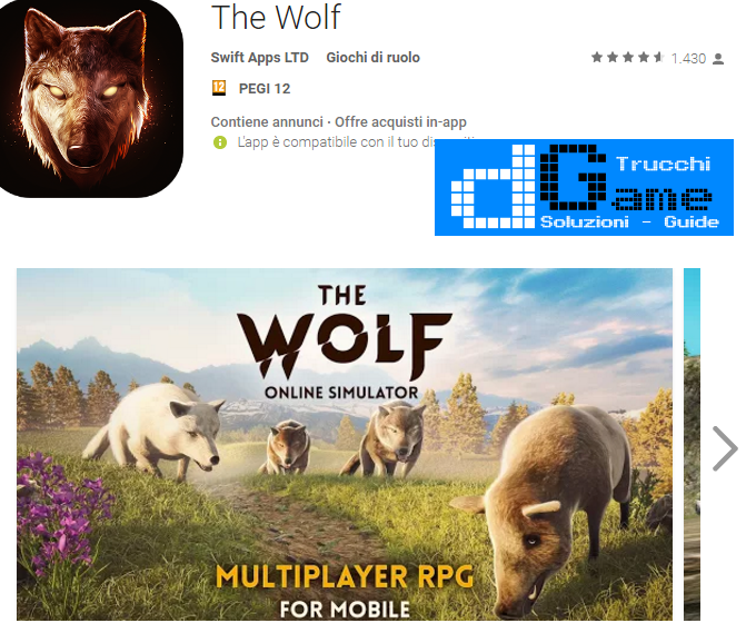 Trucchi  The Wolf Mod Apk Android v1.0.1