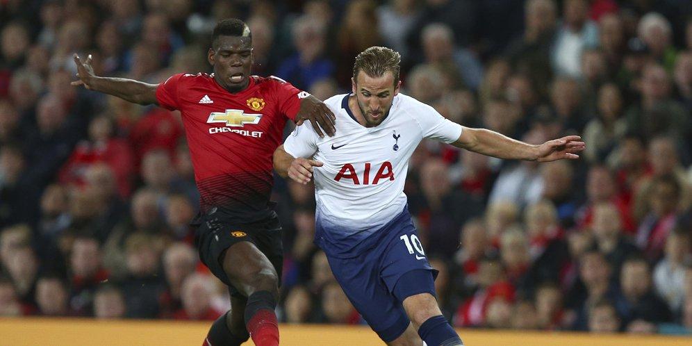 Hasil Skor Manchester United vs Tottenham: Skor 0-3