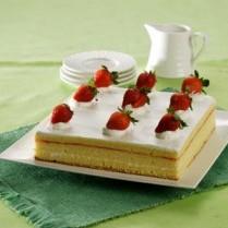 Resep Cake Keju Stroberi