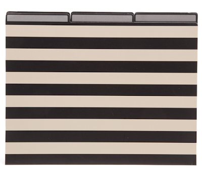 file folders with stripes