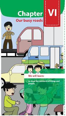 mengcover bahan mengenai kosa kata perihal benda Materi  Bahasa Inggris Kelas 8  Chapter VI  Our busy roads