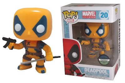MegaCon Exclusive Blue & Yellow Deadpool Variant Pop! Marvel Vinyl Figure by Funko