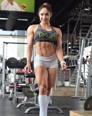 Sandra Grajales workout