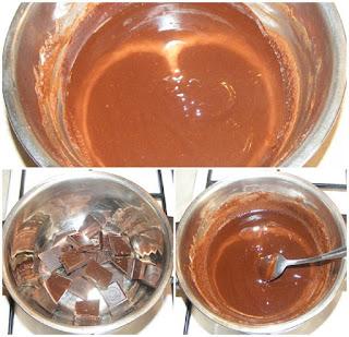 crema de ciocolata, retete glazuri pentru prajituri bomboane torturi si praline de casa, reteta glazura la baine marine,