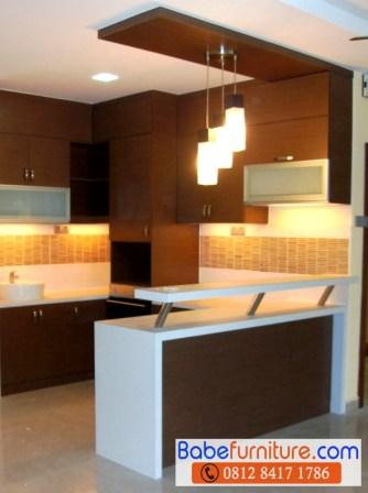 Kitchen Set Modern Ciputat Minimalis Di