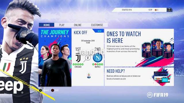 Aktivasi FIFA 19 Offline Murah