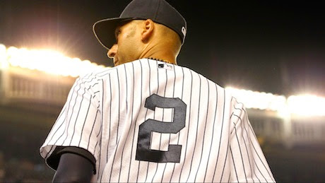Now retiring...Numbah Two...Derek Jeter...Numbah Two...