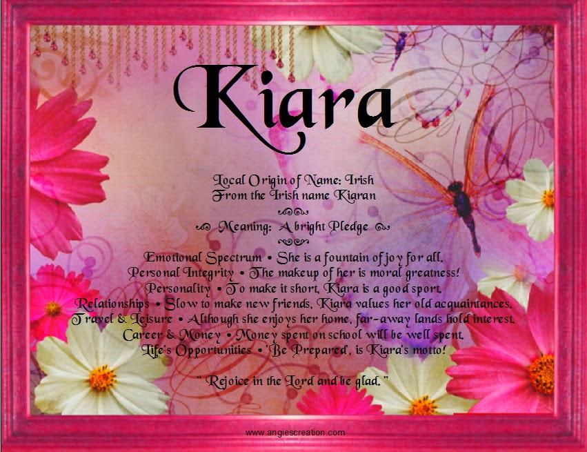 Kiara | Unique Names