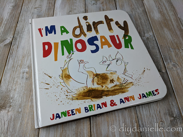 I'm a Dirty Dinosaur is a favorite book for my toddlers.