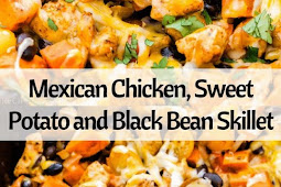 MEXICAN CHICKEN, SWEET POTATO AND BLACK BEAN SKILLET
