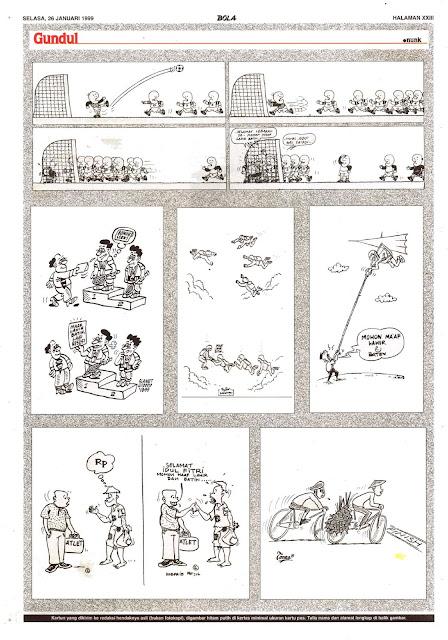 Si Gundul EDISI NO. 870 / SELASA, 26 JANUARI 1999