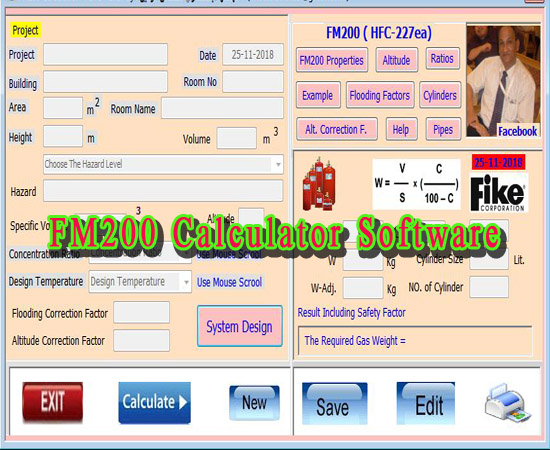fm 200 flow calculation software free download