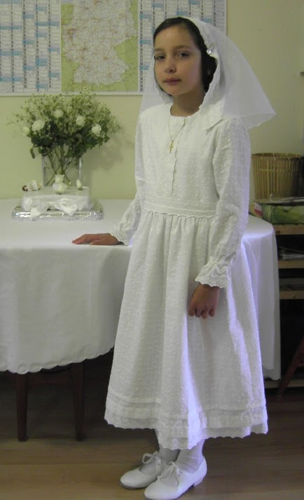 b029a1507e0 Zelie s Roses   Traditional Long-Sleeved First Holy Communion Dresses