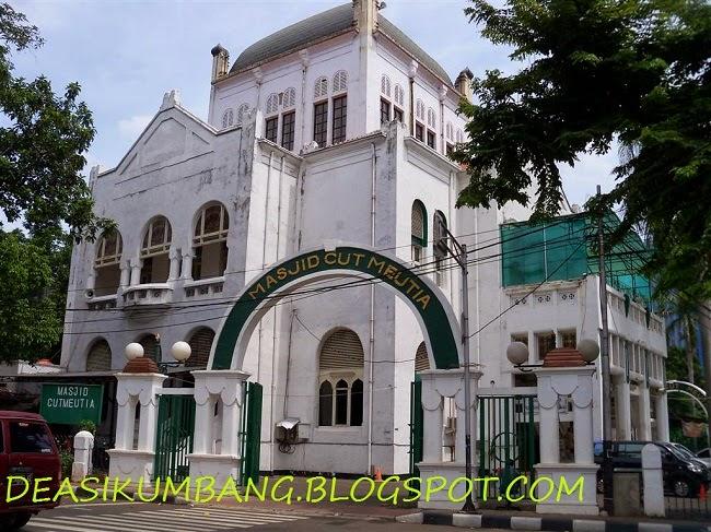 Wisata Islami ke Masjid Cut Meutia Menteng – Jakarta