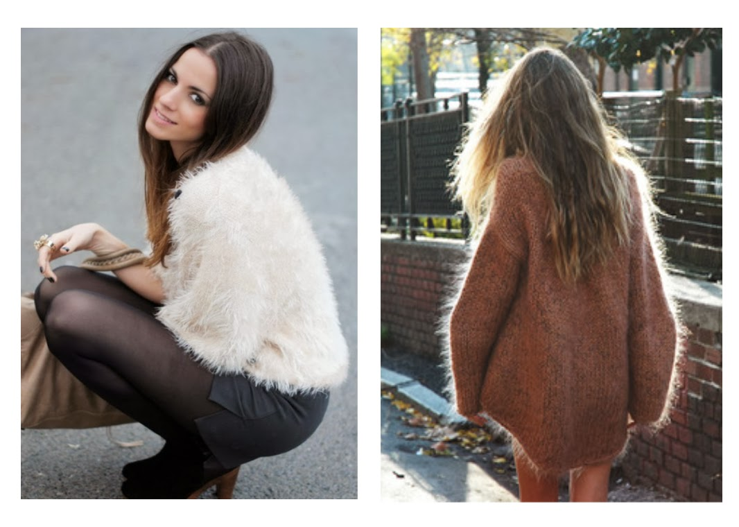 French Allure: Fall Fashion Obsession: The fuzzy sweater