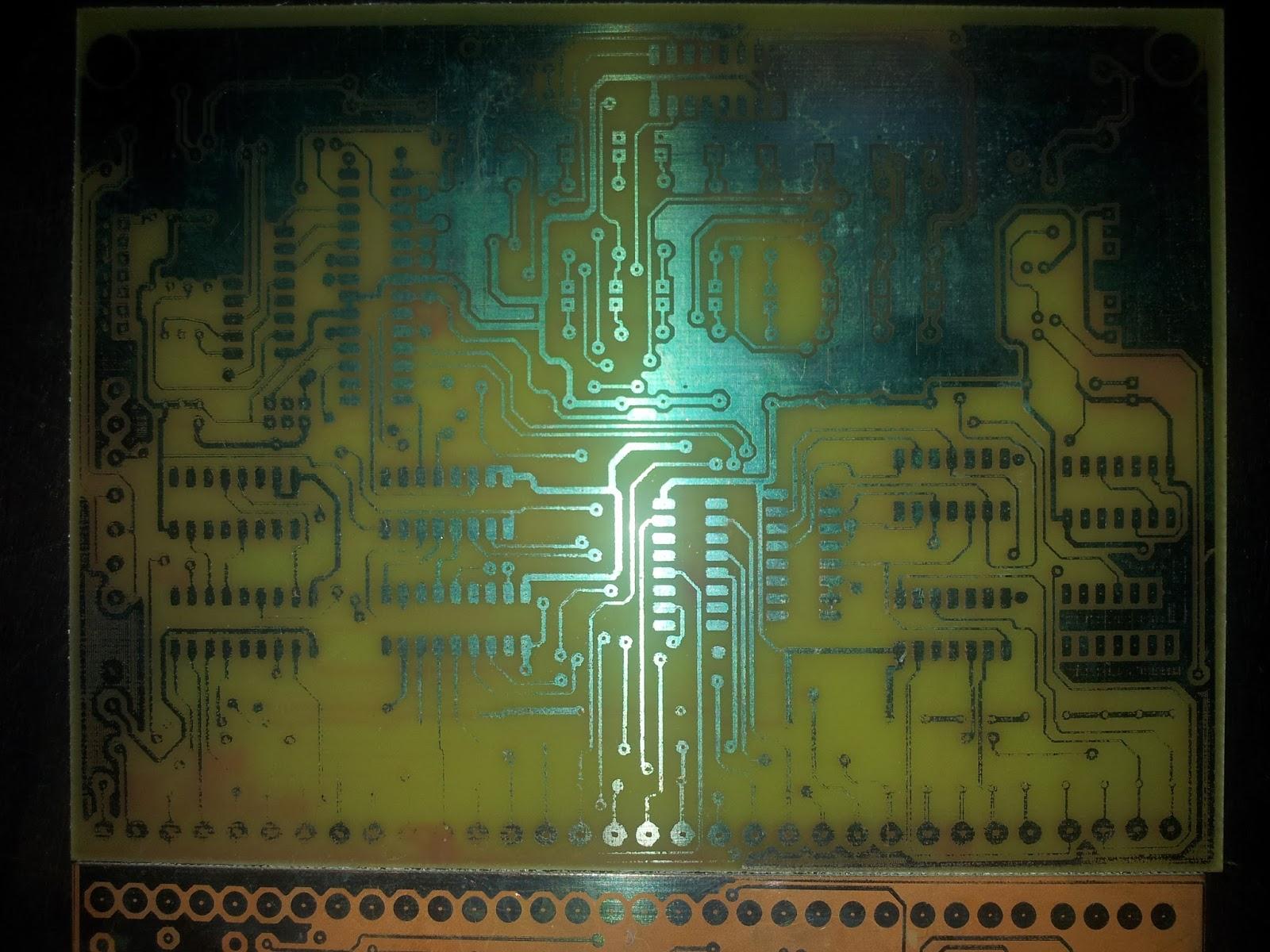 In Between Making Good Printed Circuit Boards Using Toner Transfer