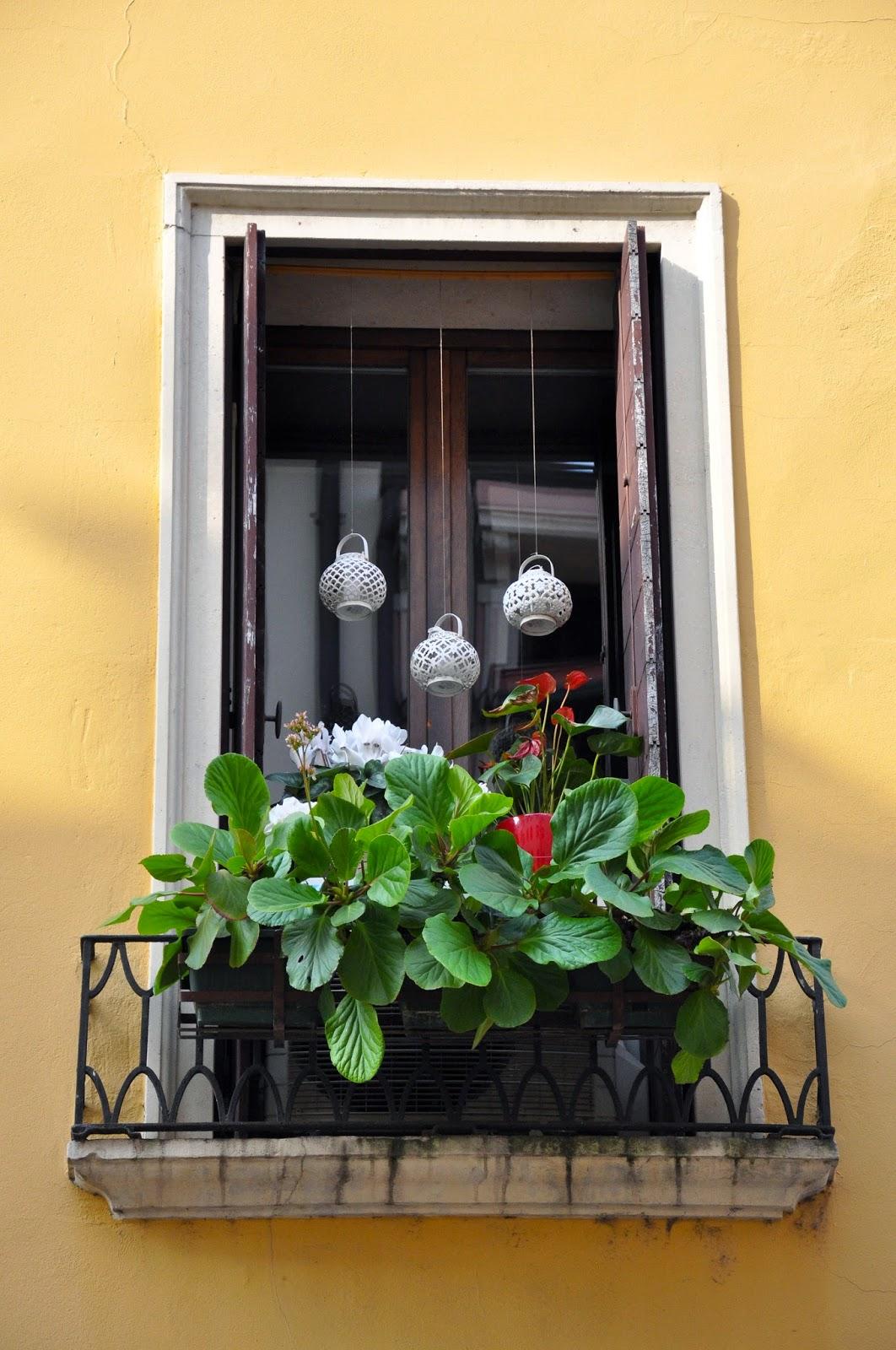 A fabulous balcony, Vicenza, Italy
