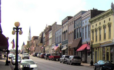 Downtown Harrodsburg, Kentucky