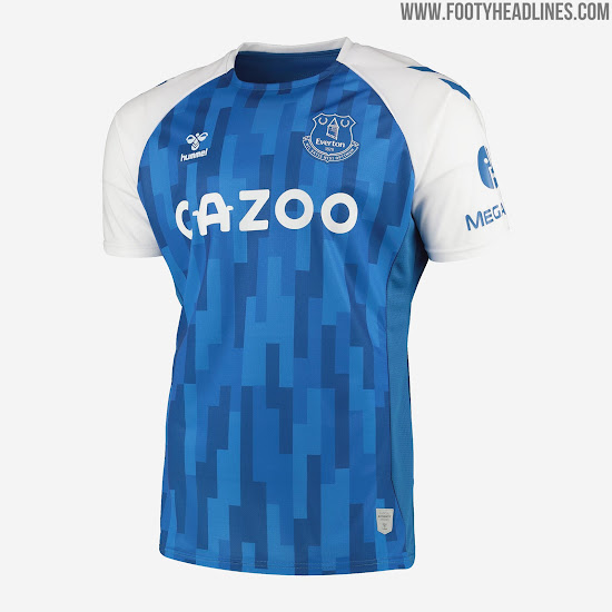 Everton FC officiel Homme Core Tipped Polo-Bleu-Neuf