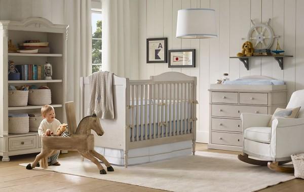 Dormitorios de bebe estilo clasico tradicional by for Mobiliario habitacion bebe