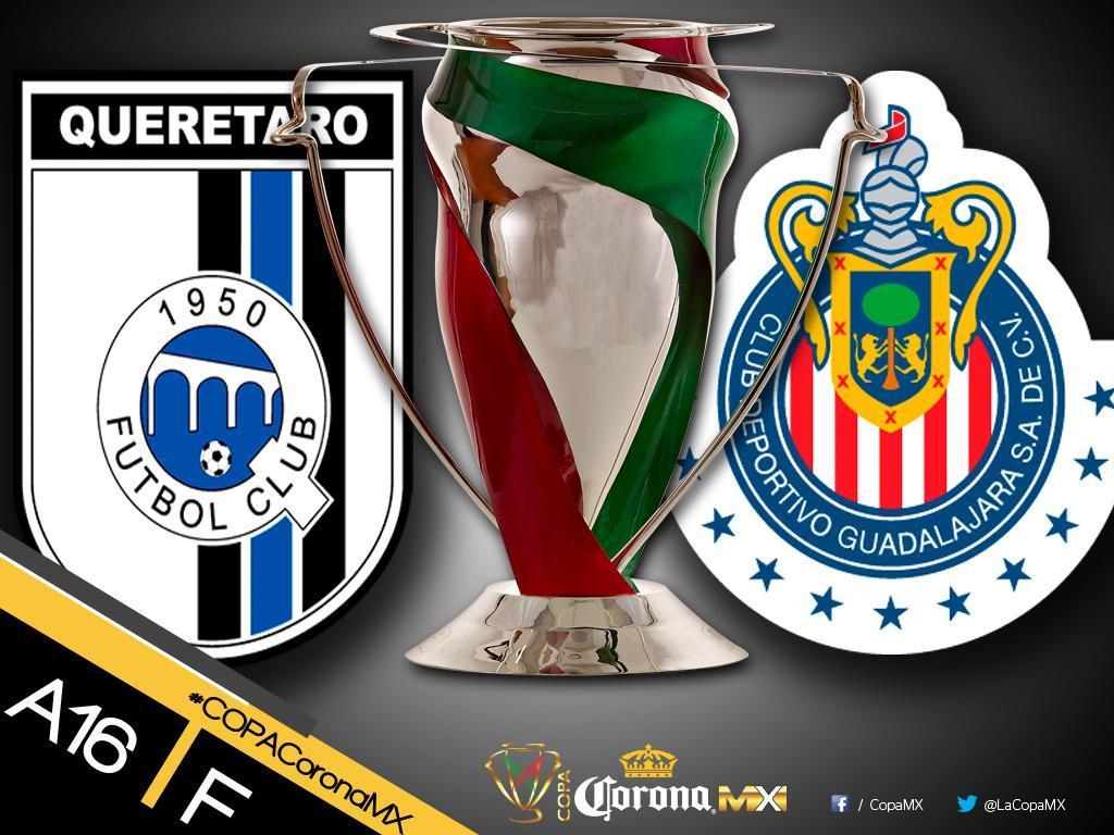 La Final de Copa MX se jugará el miércoles.