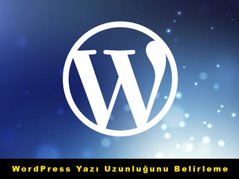 Wordpress Yazı Uzunluğunu Otomatik Belirleme