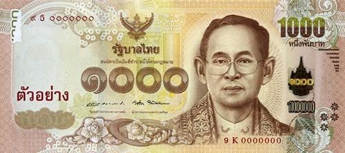 New 1,000-baht
