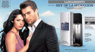 Perfume alternativo de rey de la seducción, fragancia masculina seductora