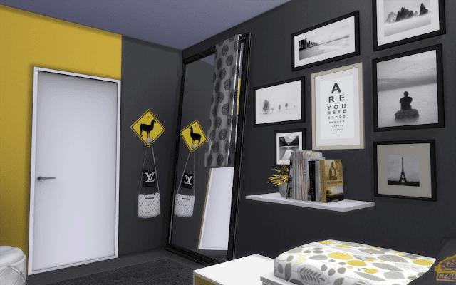 bedroom newyork sims4