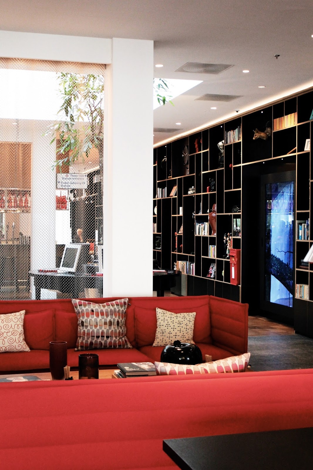 citizenM Tower of London hotel interior design