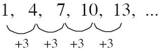 barisan aritmatika beda suku 3