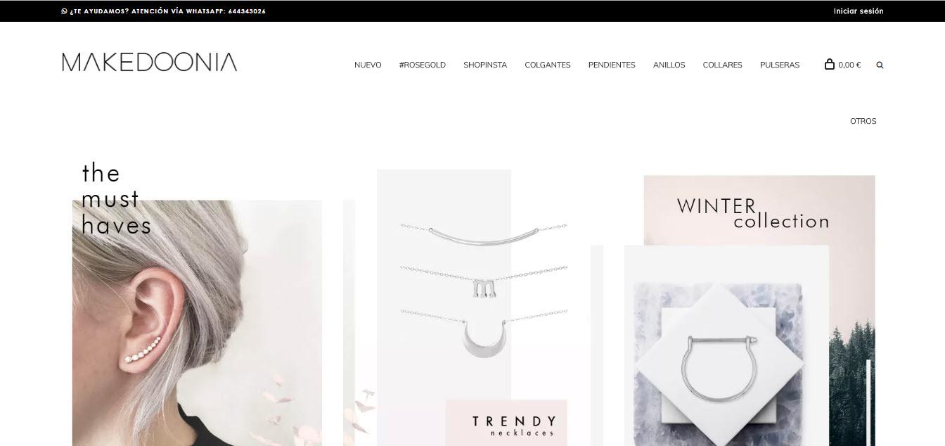 diseño web joyeria