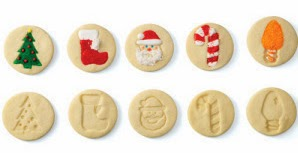 cookie stamps christmas