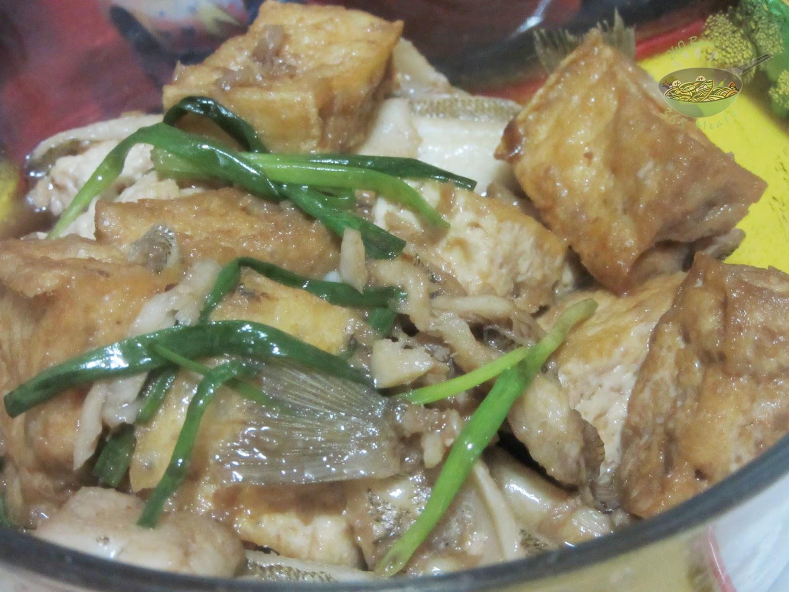 how to cook fish tofu