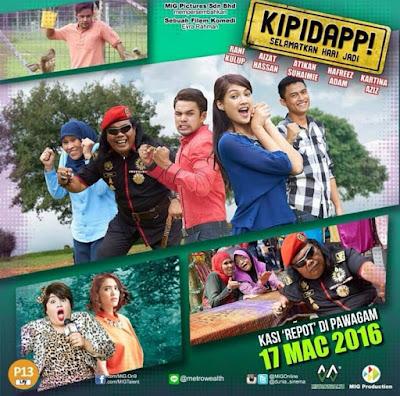 Sinopsis filem Kipidapp! Selamatkan Hari Jadi
