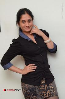 Telugu Actress Priyanka Pallavi Stills in Micro Mini Skirt at Nenosthaa Movie Song Launch at Radio City  0007.JPG