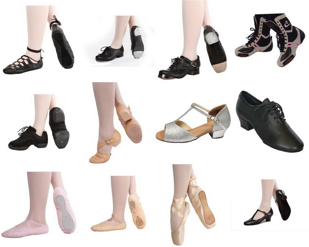 Voucher Codes Blog: Different Types of Dancing Shoe for Every ...