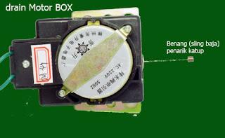 Drain Motor Box