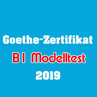 Goethe Zertifikat B1 Modelltest 2019 Deutschbuch