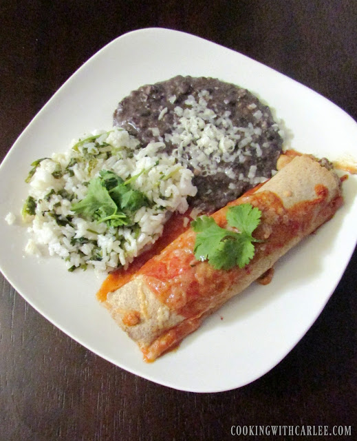 Jess's Chicken Enchiladas