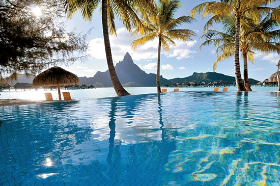 Intercontinental Bora Bora Resort & Thalasso Spa Hotel – Bora Bora – French Polynesia-Infinity-Pool2