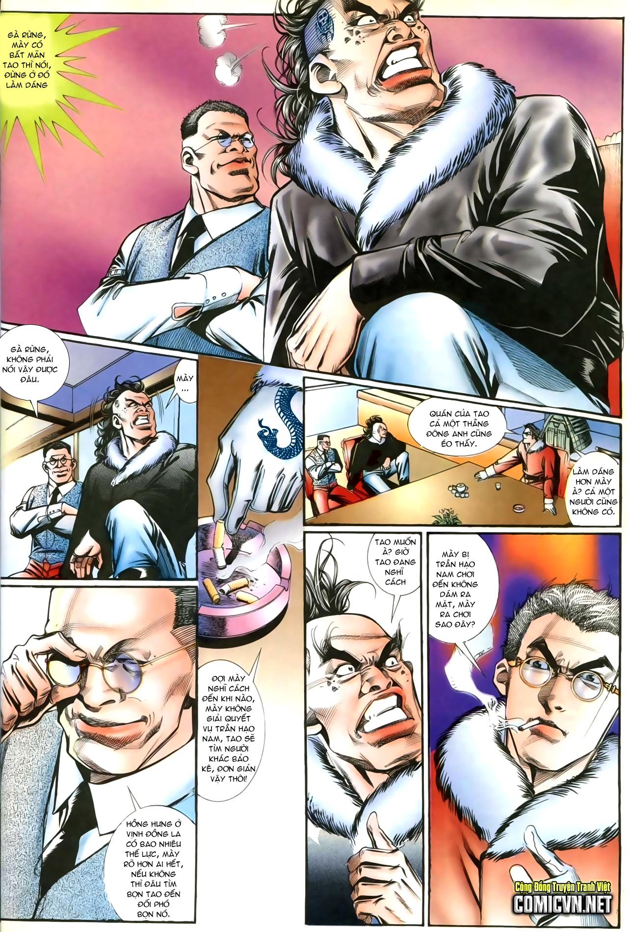 Người Trong Giang Hồ chapter 207: nhật ký đau lòng trang 19