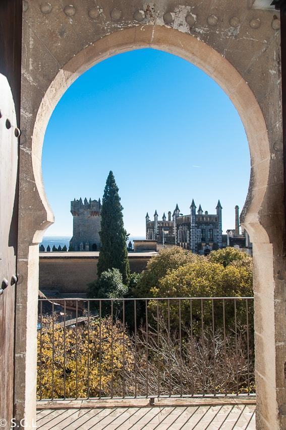 Detalle del castillo de Almodovar. Visita Cordoba